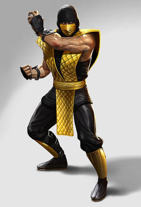 Mortal Kombat Classic Scorpion