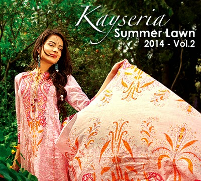 Kayseria Summer Lawn 2014 Vol.2