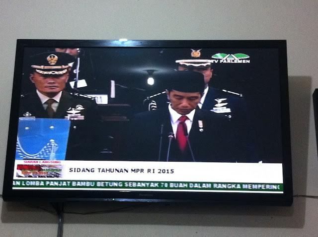 Ini Pidato Lengkap Presiden Jokowi pada Sidang Paripurna MPR RI 2015
