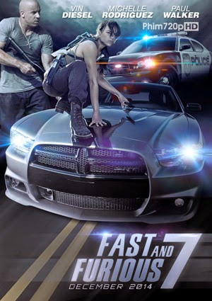 Fast & Furious 7 2014 poster