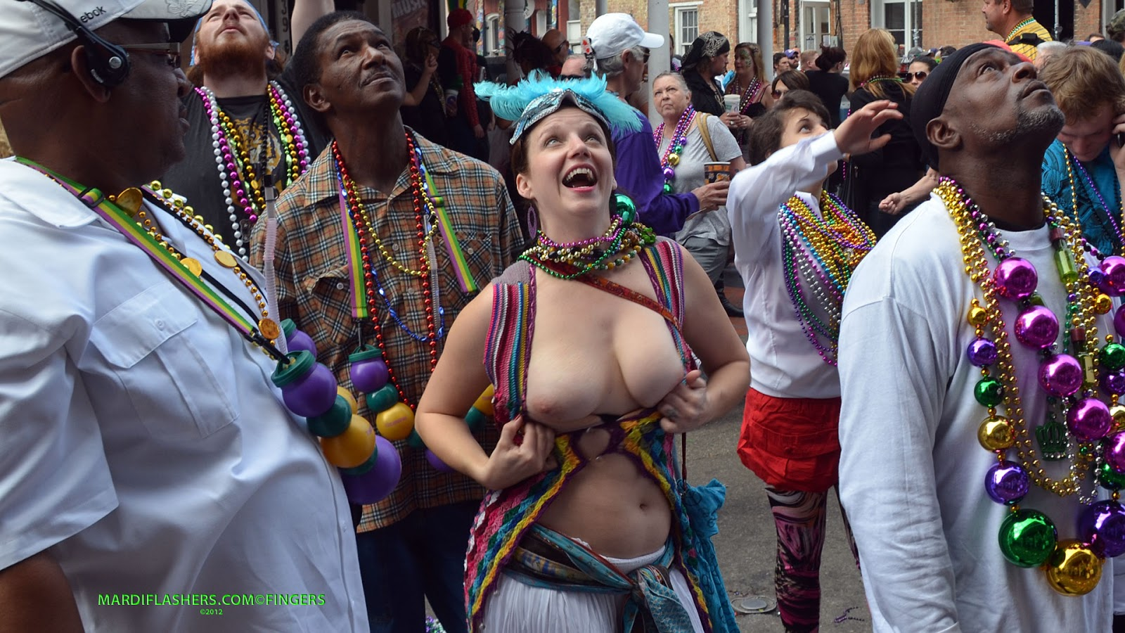 Naked Spring Break Mardi Gras Beads - Hot Girls Wallpaper