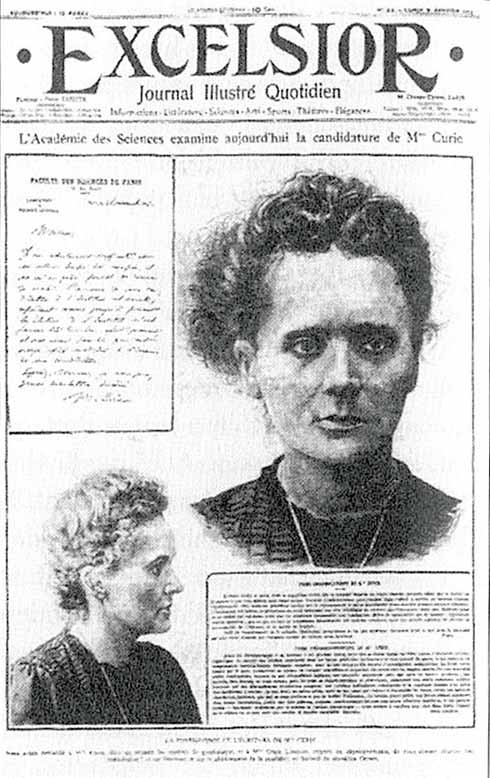 marie curie thesis papers Marie and pierre curie and the ever made in a doctoral thesis a little celebration in marie's marie sklodowska curie, kosmos papers.