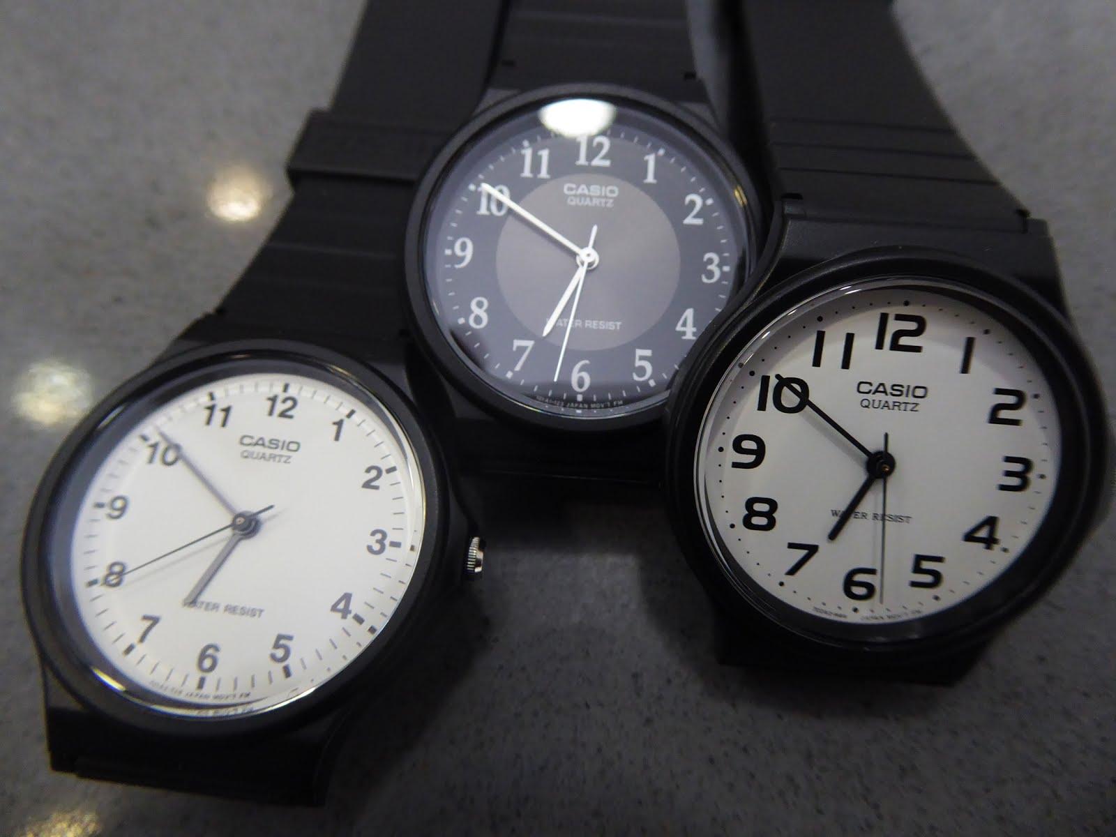 Relojes clásicos Casio