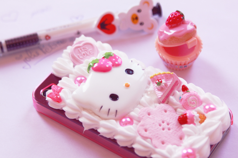 iphone case coque kawai cute hello kitty