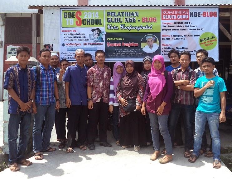 Pelatihan Nge-blog gratis Tanjungbalai