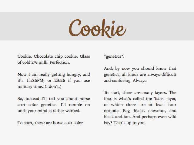 Cookie Is A Sweet Font With An Easy To Read X Height Simple Lowercase Letters And Mostly Overdone Uppercase I Especially Dislike The