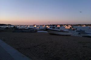 Puesta de sol en Punta Umbria