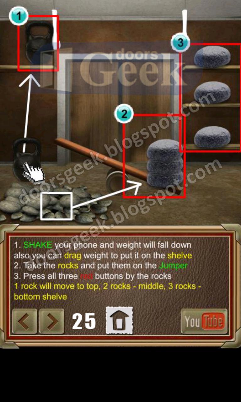 100 doors of revenge level 25 doors geek for 100 door of revenge