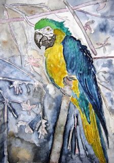 Bird-Panting-Wallpaper