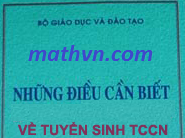 nhung dieu can biet ve tuyen sinh trung cap 2012