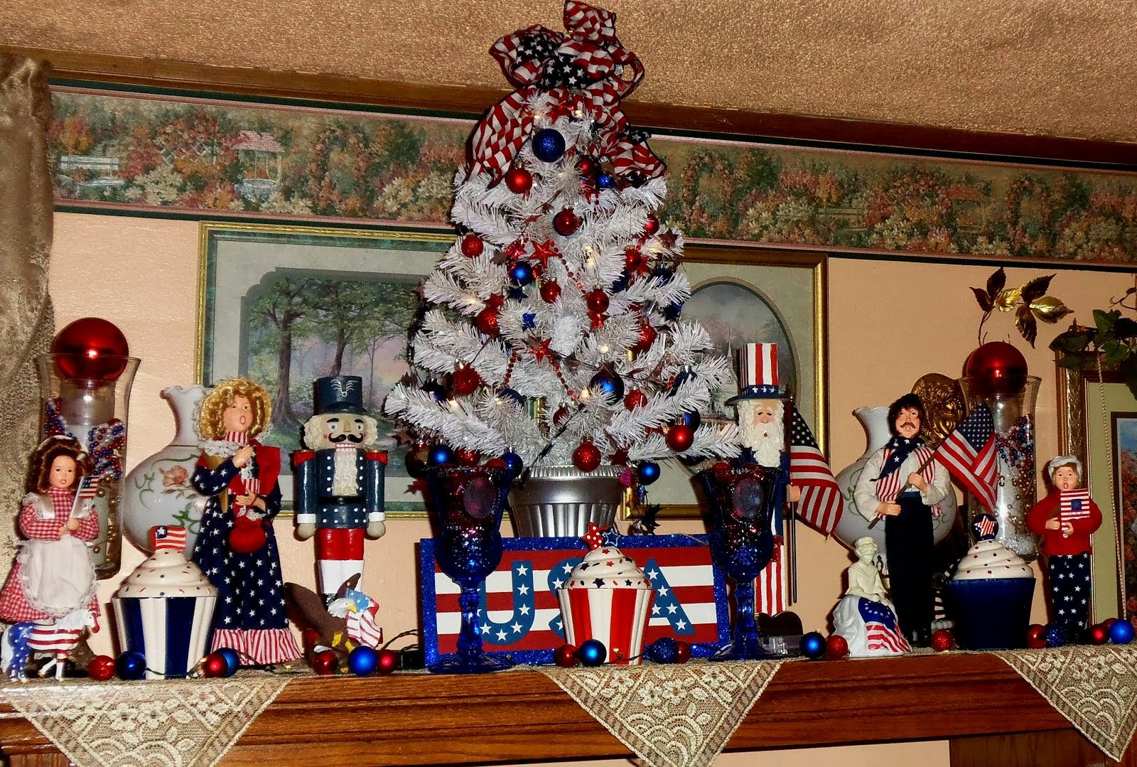 My Patriotic Decor, Part 2, 2014