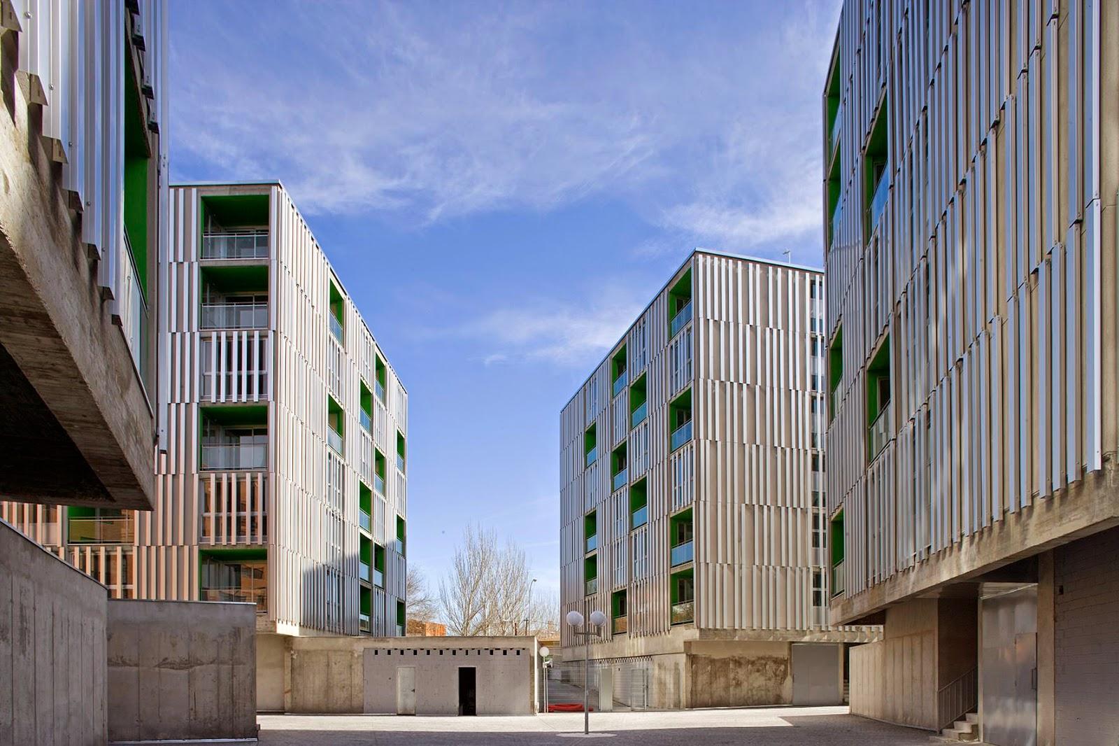 Arquitectura zona cero constructing situations 156 viviendas de alquiler en parla madrid de - Arquitectos interioristas madrid ...