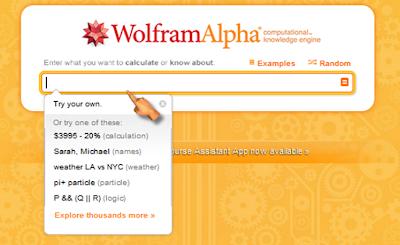 Solución de ejercicios de muchas materias en WolframAlpha