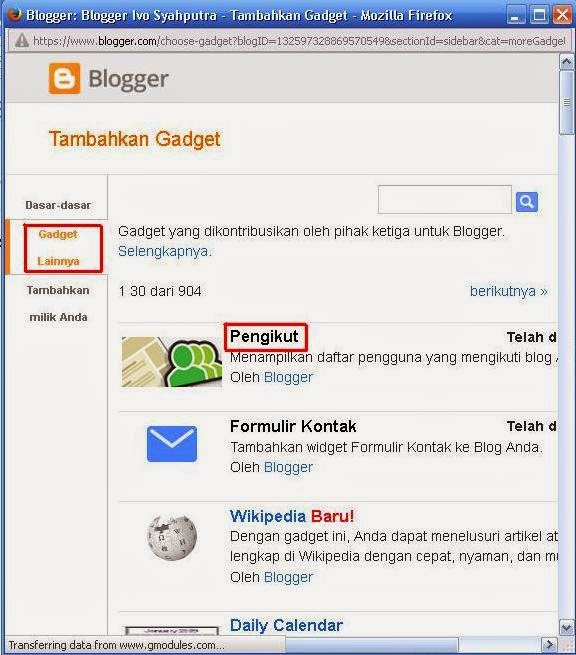 Cara Memasang Widget Join This Site Di Blog