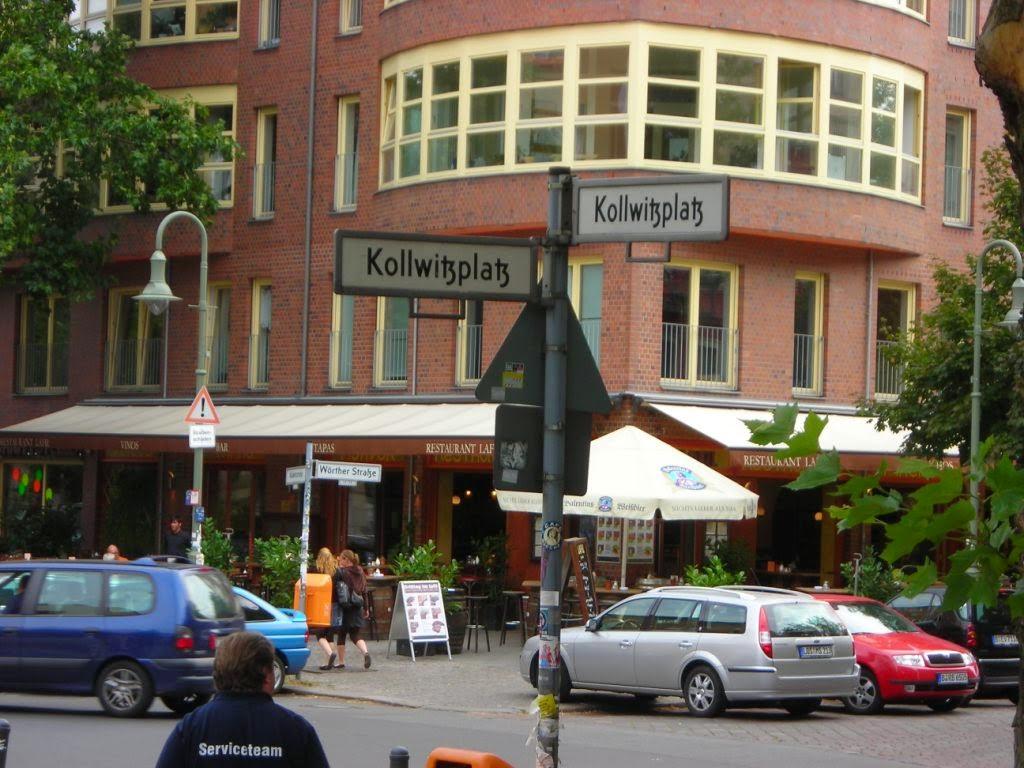 Speeltuin Kollwitzplatz Berlijn