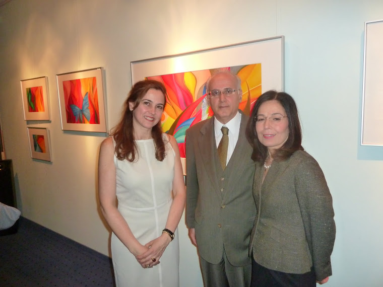 Ausstellung im Brasilianischen Konsulat in Frankfurt /Exposição no Consulado Brasileiro - Frankfurt