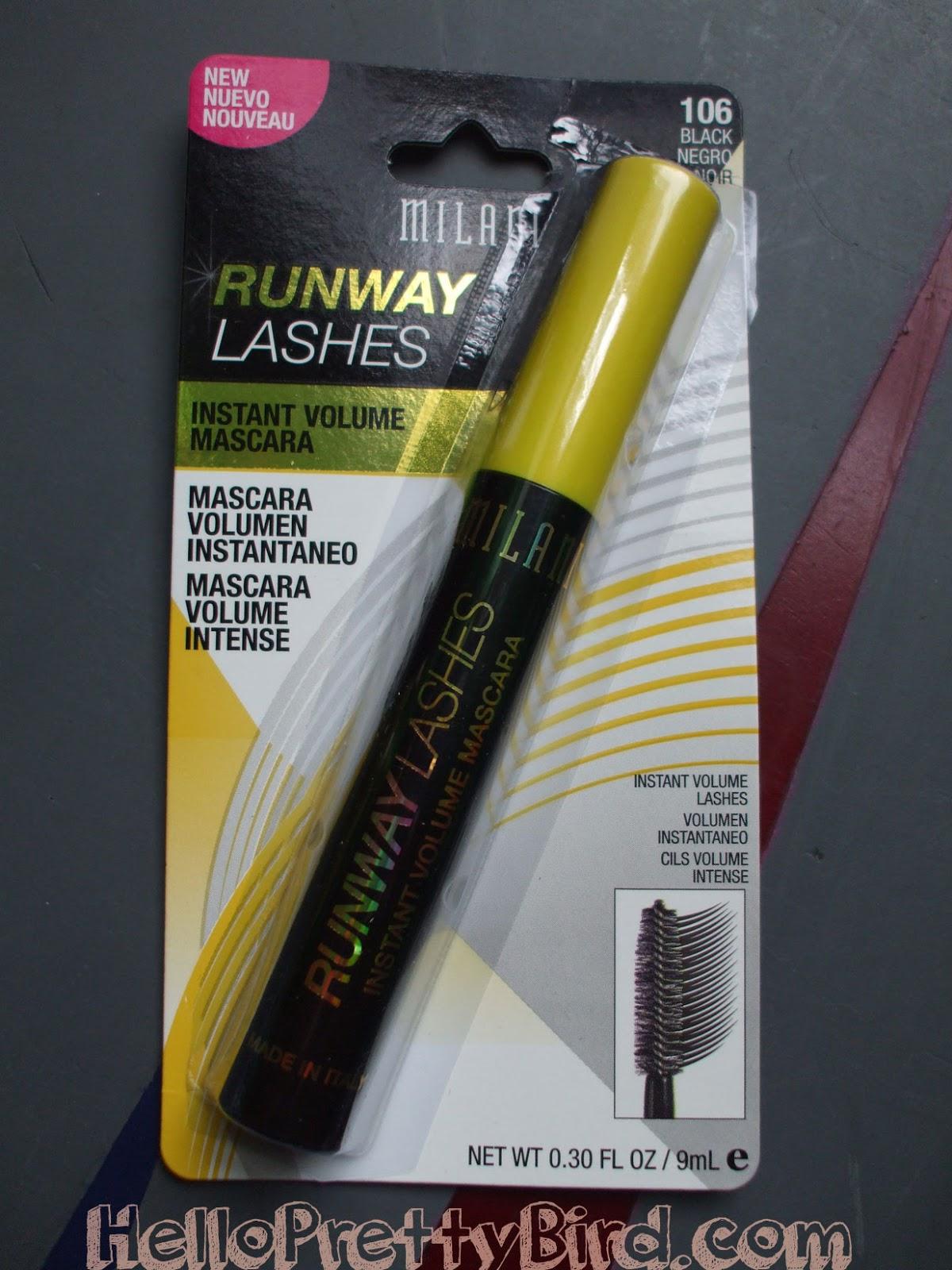 Milani Runway Lashes mascara