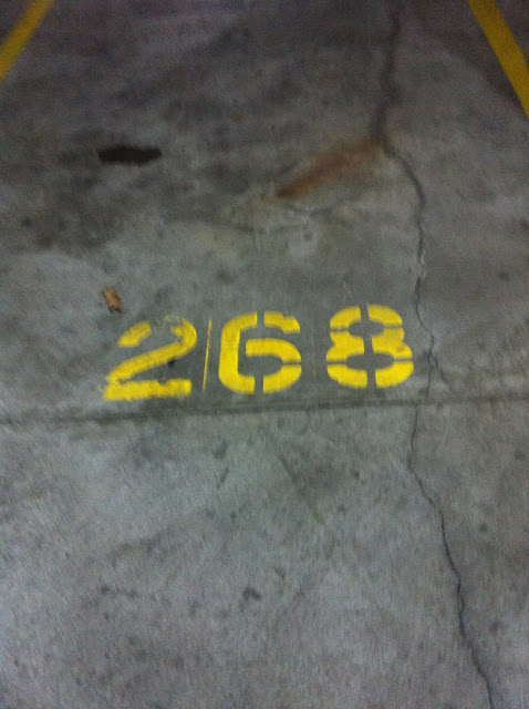 Sunday Morning - Parking Spot Number