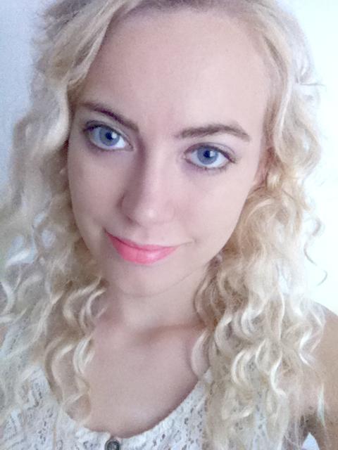 Girl with Purple Eyes