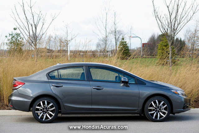 2013 Honda Civic Side