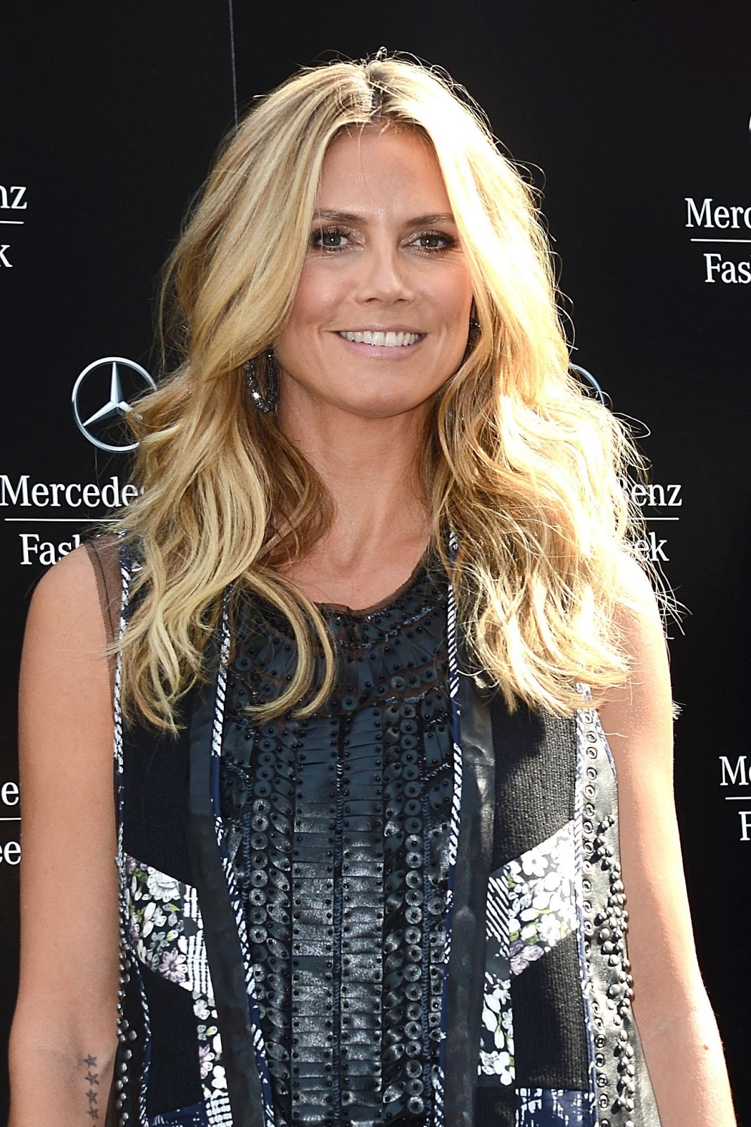heidi klum  heidi klum at bcbg max azaria spring 2014 fashion show  nyc  sept 5  2013