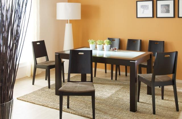 Modern home interior design contemporary dining room for Q significa dining room
