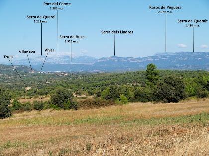 Les muntanyes del nord: Port del Comte, Busa, Rasos de Peguera, Queralt...