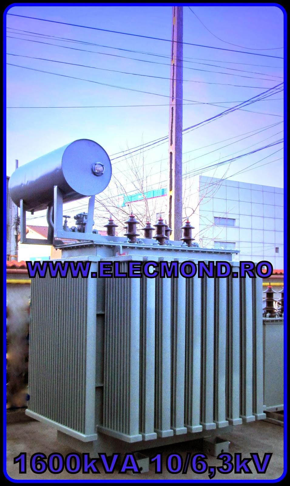 MODIFICARE RAPORT DE TRANSFORMARE , TRANSFORMATOR 1600 kVA 10/6,3 kV , trafo 1600 kVA 10/6,3 kV