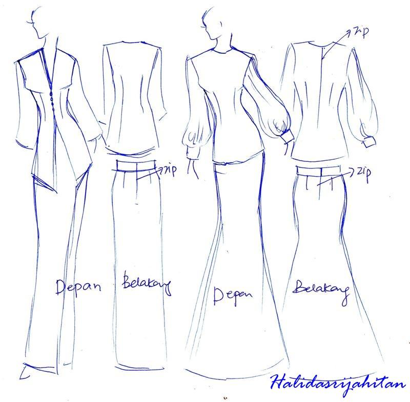 Pola Baju Kurung Related Keywords & Suggestions - Pola Baju Kurung ...