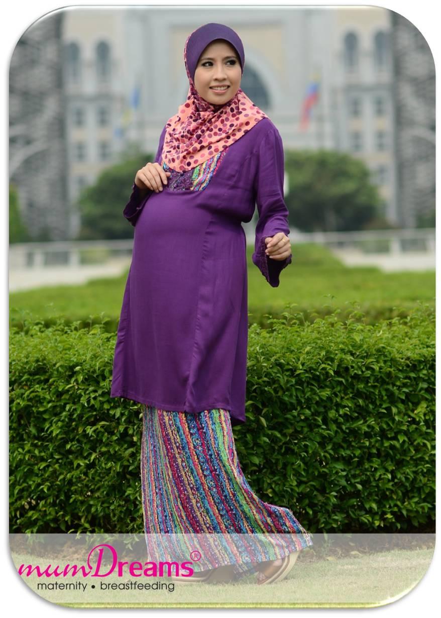 Baju Kurung untuk ibu mengandung @ umi ahmad shoppe