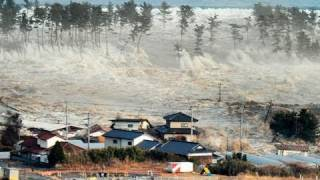 Live Video Of Tsunami Strikking In Japan – Dangerous