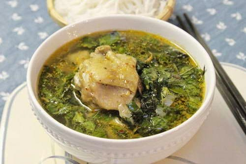 Chicken Soup with Basil Leaves Recipe - Gà Nấu Húng Quế