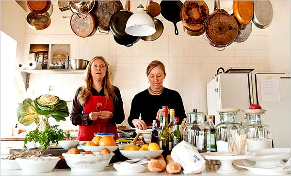 ... Melissa Hamilton - Canal House Roasted Tomatoes Studded with Garlic