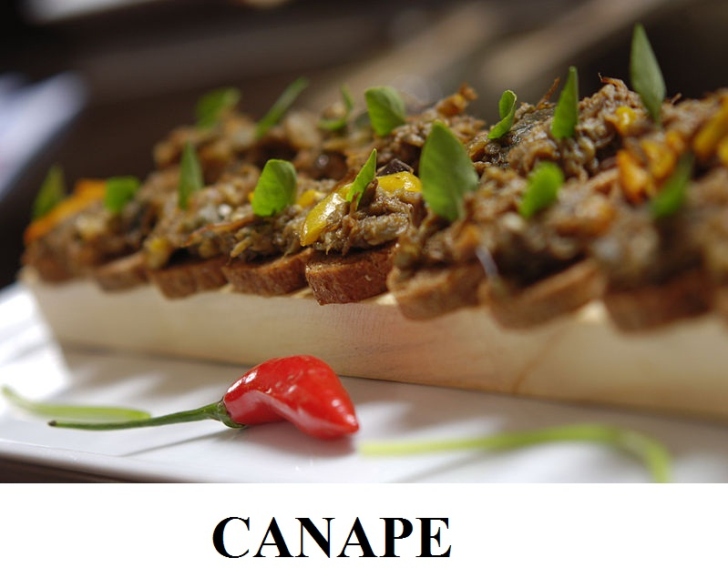Canape your complete recipes for French canape ideas