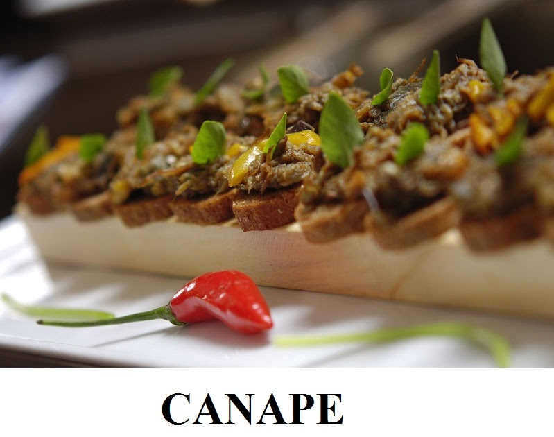 Canape your complete recipes for Canape toppings