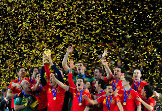 Last year Spain topped the Football World Cup Predictions