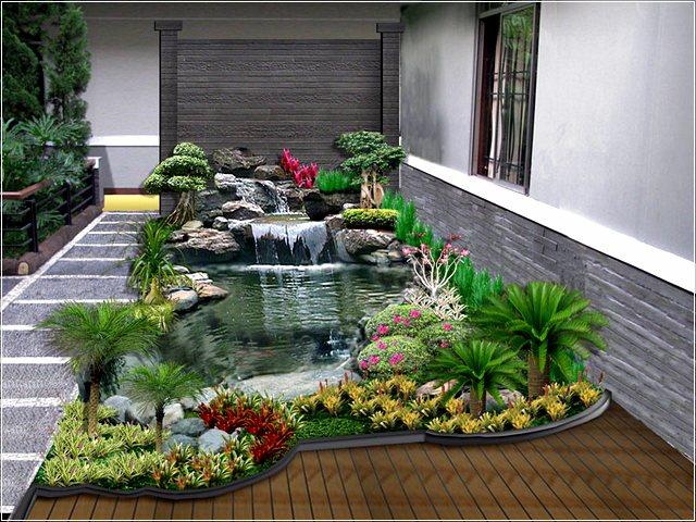 75 Desain Taman Belakang Rumah Minimalis Klasik Rumah Asia