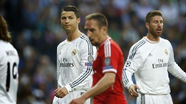 كريستيانو رونالدو يفتح النار على اطباء ريال مدريد