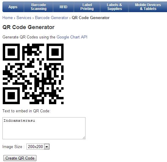 Membuat Barcode Hanya Dalam Beberapa Detik
