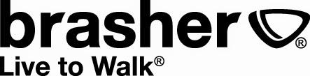 Brasher walking hiking footwear