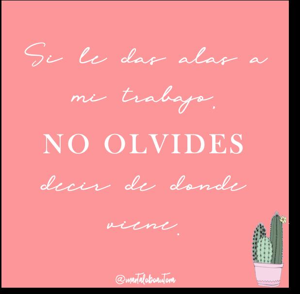 NO LO OLVIDES
