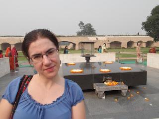 Raj Ghat, memorial de Ghandi