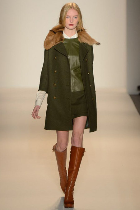 "NYFW: Go ""Olive"" Green for Fall 2013"