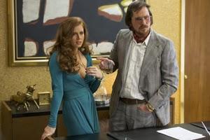 Amy Adams y Christian Bale en La gran estafa americana