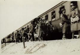 Trains at Fossoli, destination Auschwitz