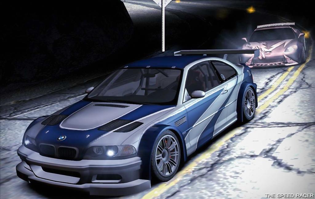 Bmw E46 M3 >> Need for Speed Carbon - BMW M3 GTR E46 vs Cross Corvette