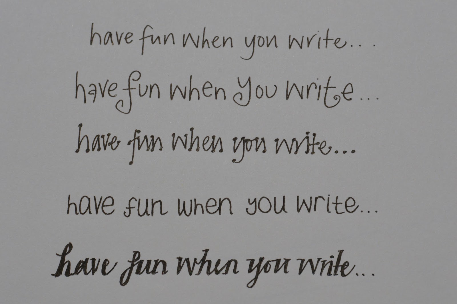 How to write beautifully