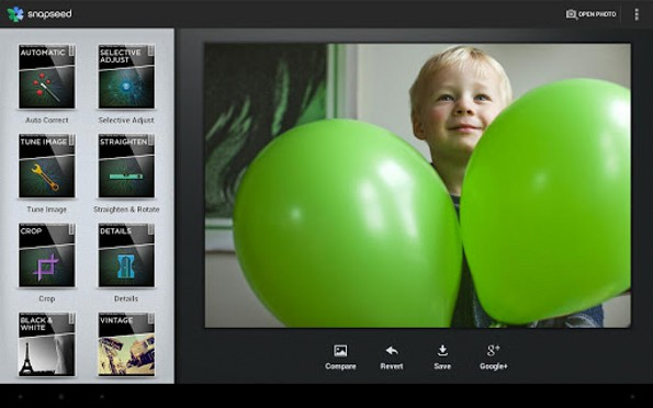 snapseed preview