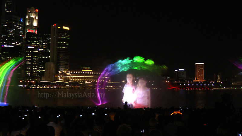 Light And Water Show Called Wonder Full