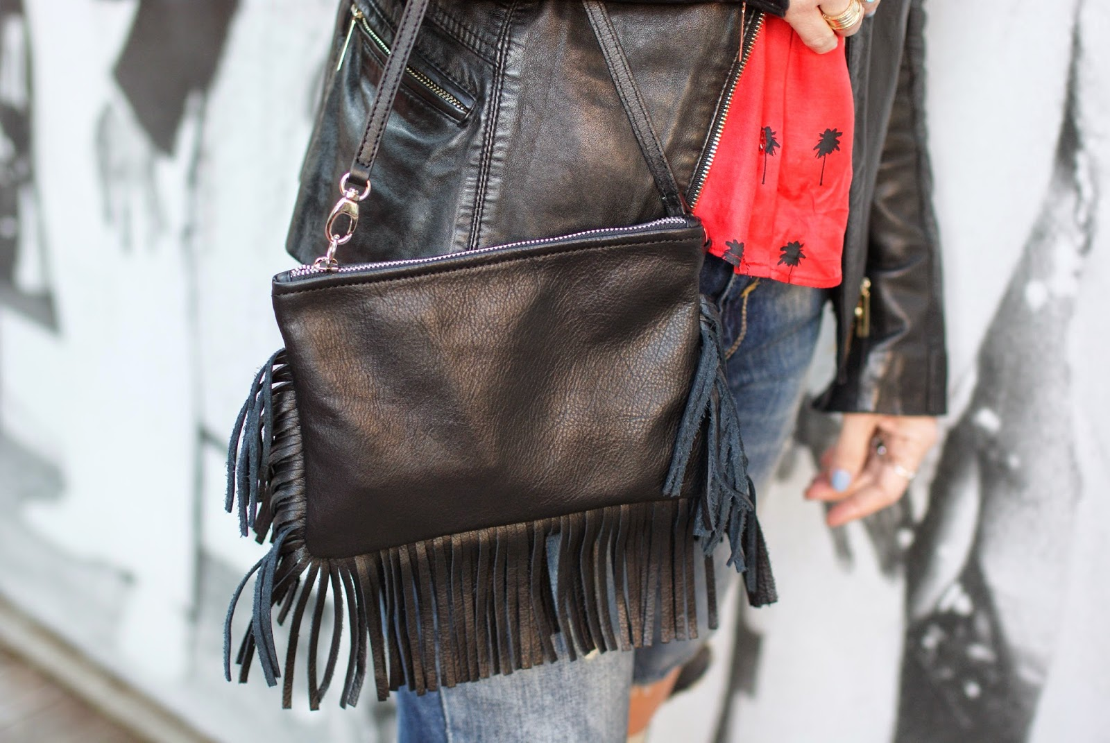 Fringed clutch, Carla G borsa frange, Fashion and Cookies, fashion blogger